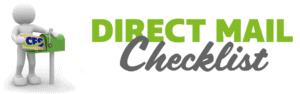 Direct Mail Checklist Header